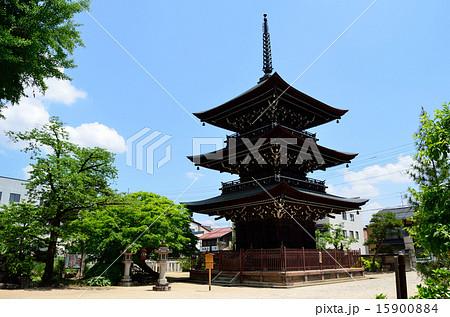 飛騨国分寺の三重の塔 15900884