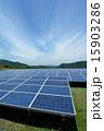 ソーラーパネル 太陽電池 太陽光発電の写真 15903286