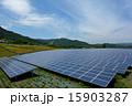 ソーラーパネル 太陽電池 太陽光発電の写真 15903287