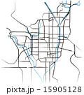 マップ ベクター 市街地図のイラスト 15905128