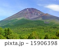 宝永火口と夏の富士山 15906398