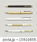 文具 文房具 セットのイラスト 15910856