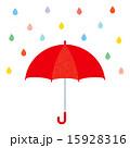 雨傘 雨具 傘のイラスト 15928316