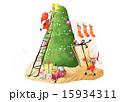 飾り 装飾 お飾りのイラスト 15934311