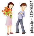 お花 フラワー 咲く花のイラスト 15940897