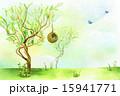 樹木 樹 ツリーのイラスト 15941771