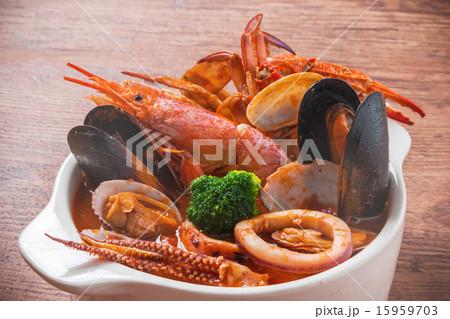 ブイヤベース Bouillabaisse French food 15959703