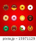 ベクター ドーナツ お菓子のイラスト 15971129