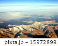 山岳 空撮 アンデスの写真 15972899