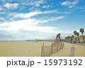 サンタモニカ サンタモニカビーチ 青空の写真 15973192