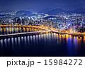 Seoul at night, South Korea 15984272