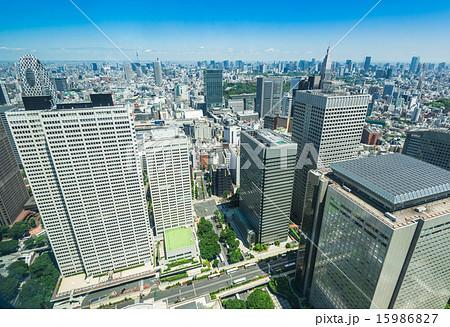 東京 西新宿の高層ビル群の写真素材 [15986827] , PIXTA