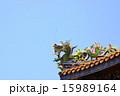 ドラゴン 龍 屋根装飾の写真 15989164