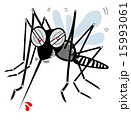 虫刺され 吸血 刺すのイラスト 15993061