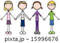 少年 子ども 子供のイラスト 15996676