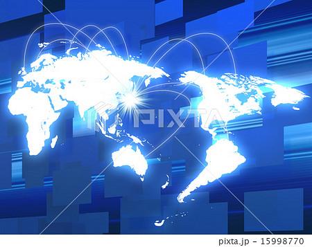 ネットワーク素材 15998770