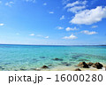 沖縄の青い海 16000280