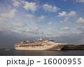 サン・プリンセス クルーズ客船 夕映えの写真 16000955