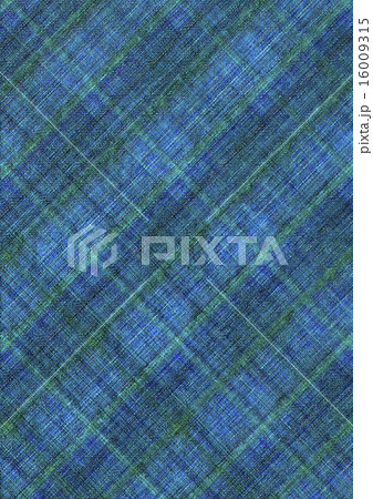 Blue with green checkered backgroundのイラスト素材 [16009315] - PIXTA