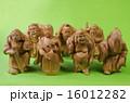 木彫り 木製 七福神の写真 16012282