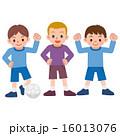 サッカー少年 16013076