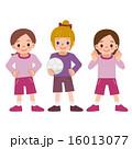 サッカー少女 16013077