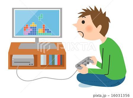 ゲームをする子供 16031356