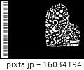 グランドピアノ ベクター 楽器のイラスト 16034194