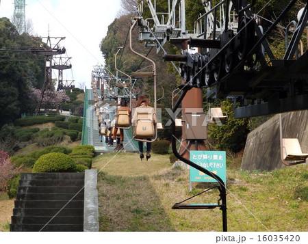 松山城のロープウェイ・リフト1 16035420