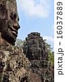 アンコール・トム 遺跡 石像の写真 16037889