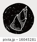 落書き たけのこ タケノコのイラスト 16045281