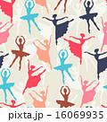 ダンス 踊る 舞うのイラスト 16069935