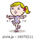フィギュアスケート イラスト 16070211