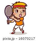 ベクター 球技 テニスのイラスト 16070217
