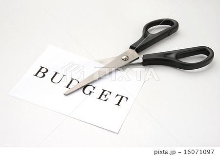 ビジネスイメージ―予算削減 16071097