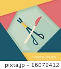 鋏 ナイフ 出刃のイラスト 16079412