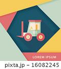 ベクトル 交通 トラックのイラスト 16082245