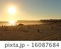 サンディエゴ パシフィック・ビーチのサンセット 16087684