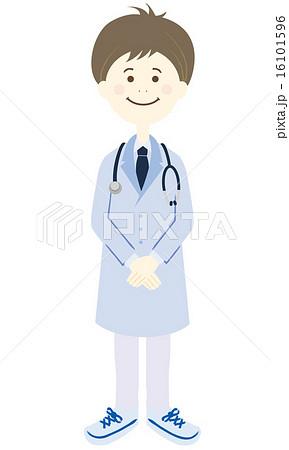 医者 全身 16101596