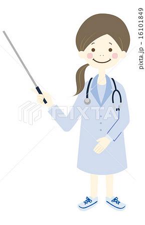 女医 全身 16101849