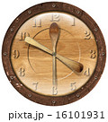 Wooden Clock Lunch Time 16101931