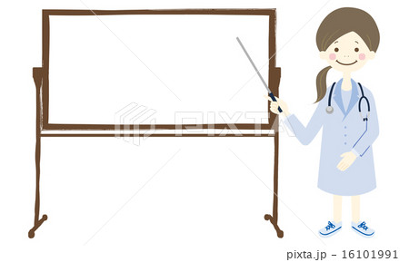 女医 ホワイトボード 16101991