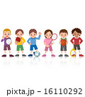 ベクター スポーツ 子供のイラスト 16110292