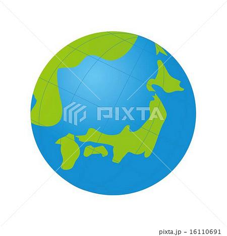 地球のイラスト素材 16110691 Pixta