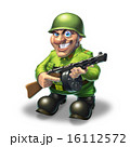 ガン 鉄砲 銃のイラスト 16112572