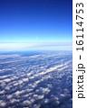 上空 航空写真 風景の写真 16114753