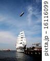帆船と飛行船 16116099