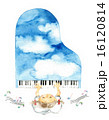 空色ピアノ 女の子と音符 16120814