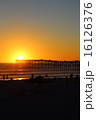 サンディエゴ パシフィック・ビーチのサンセット 16126376