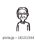 線画 ベクター 眼鏡のイラスト 16131344
